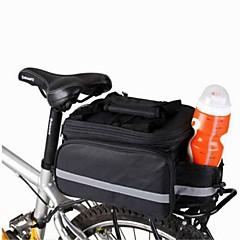 お買い得  自転車用バッグ-自転車用バッグ 8Lショルダーバッグ 自転車用リアバッグ/自転車用サイドバッグ 自転車用リアバッグ コンパクト 多機能の 自転車用バッグ キャンバス サイクリングバッグ キャンピング&ハイキング サイクリング