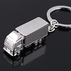 Cinkötvözet Kulcstartó kedvezmények-1 Darab / Set Kulcstartók Nem személyre szabott Ezüst
