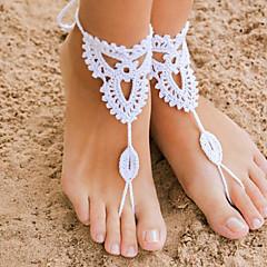 Žene Kratka čarapa/Narukvice Tekstil kostim nakit Flower Shape Jewelry Za Vjenčanje Party Dnevno Kauzalni Božićni pokloni