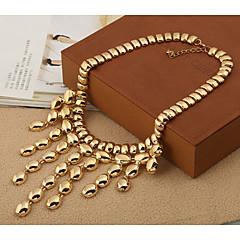 ieftine -Pentru femei Formă Ciucure Modă Coliere Zirconiu Cubic Coliere Petrecere Costum de bijuterii