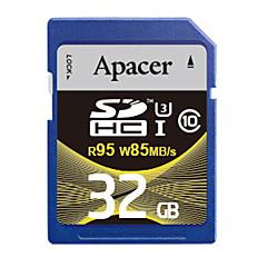 baratos Cartões de Memória-Apacer 32GB Cartão SD cartão de memória UHS-I U3 class10