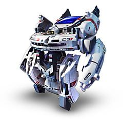 preiswerte Roboter-7 In 1 Roboter Solar betriebene Spielsachen Spielzeuge Solar-angetrieben Wiederaufladbar ABS Stücke Geschenk