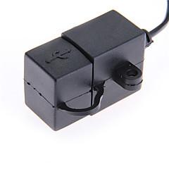 motorfiets stuur sigarettenaansteker Dual USB oplader voor smartphone 5v
