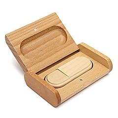 tanie Pamięć flash USB-32 GB Pamięć flash USB dysk USB USB 2.0 Drewniany Niewielki rozmiar