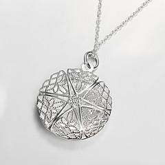 Dames Medaillons Kettingen Verzilverd Modieus Kostuum juwelen Sieraden Voor Feest Dagelijks