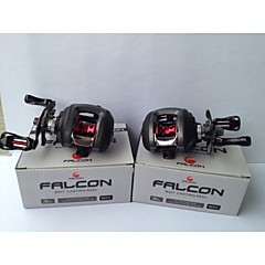 FALCON LP-200L 6.3:1 10+1RB  Ball Bearings Bait Casting Baitcast Reels Left-handed