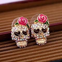 Women's Stud Earrings Costume Jewelry Alloy Skull / Skeleton Jewelry For Daily Casual