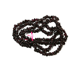 Beadia 88Cm/Str Natural Garnet Beads 5-6mm Irregular Shape Sonte Loose Beads DIY Accessories