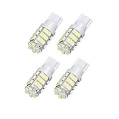 billige Interiørlamper til bil-LORCOO 4stk T10 Bil Elpærer 42 interiør Lights