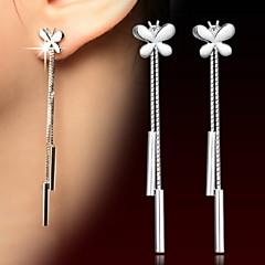נשים עגילי טיפה תכשיטים כסף סטרלינג סגסוגת תכשיטים עבור יומי קזו'אל ספורט