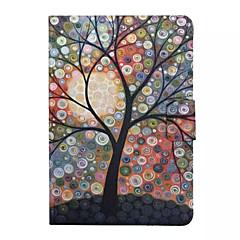 kupla puu kuvio pyörivä tasainen kotelo iPad Mini / iPad MINI2 / ipad mini3