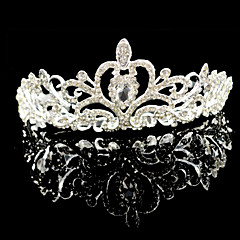 Women's Rhinestone Crystal Alloy Headpiece-Wedding Special Occasion Tiaras 1 Piece