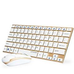 billiga mus tangentbord combo-Trådlös Mus tangentbord combo Mini AA Battery kontors tangentbord