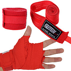 abordables Arts Martiaux & Boxe-Bandages pour Mains Support pour Main & Poignet pour Taekwondo Boxe Sanda Muay-thaï Karaté Art martial Unisexe Ajustable Élastique