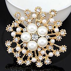 Γυναικεία Μαργαριτάρι Στρας Κράμα Μοντέρνα Κοσμήματα Καθημερινά