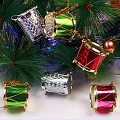 billige Kunstige blomster-12 stk 2,5 cm fargerik side trommer juletrær og fest dekorasjon