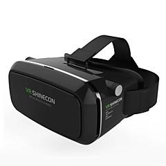 vr תיבת shinecon מציאות וירטואלית 3D משקפיים קרטון 2.0 vr אוזניות (צבע שחור)