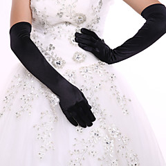 Spandex Elbow Length Glove Bridal Gloves Party/ Evening Gloves