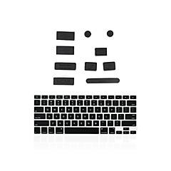 """Silikon-Antistaub-Port Stecker + passenden Tastatur-Abdeckung für MacBook 13 """"Luft / Netzhaut"""