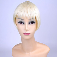 cheap Wigs & Hair Pieces-#F88.27 #T88 #6/10 #F30.6H #88T27+10 Straight Bangs Fringe 0.02kg Synthetic Hair Hair Piece Hair Extension Straight