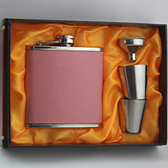 cheap Groomsmen Gifts-Stainless Steel Hip Flasks Bride Groom Bridesmaid Groomsman Congratulations