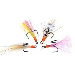 billiga Fiskbeten och flugor-4 st Fiskbete Flugor pvc Flugfiske