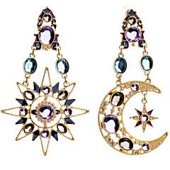 Χαμηλού Κόστους Κρεμαστά Σκουλαρίκια-Κρεμαστά Σκουλαρίκια απομίμηση διαμαντιών Κράμα Μοντέρνα Χρώμα Οθόνης Κοσμήματα 2pcs