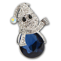 luksus diamant brosje hight kvalitets blå krystall akryl Rhinestone brosjer pins bryllup smykker buttons med pin x30005