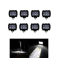 tanie Oświetlenie pomocnicze-8x 30W LED-oświetlenie robocze bar offroad 12v 24v ATV Offroad spot dla ciężarówek 4x4 UTV