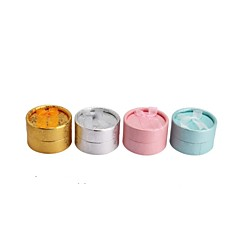 Paper Round Ring/earrings Jewelry/Gift Packing Box Fit Brithday/Wedding Decoration Fashion Jewelry Box Random Color