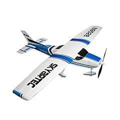billiga Drönare och radiostyrda enheter-Radiostyrt flygplan Skyartec 182 5CH 2.4G KM / H Färdig att köra Borstlös elektrisk