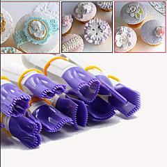 tanie Przybory do pieczenia-Narzędzia do pieczenia Plastik Przyjazne dla środowiska Zrób to Sam Tort Cupcake Placek Narzędzie do dekorowania