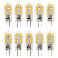 baratos Iluminação Decorativa-Ywxlight® 10 pcs 2.5 w 300lm g4 14led 2835smd levou luzes bi-pin branco quente branco frio branco luz natural lâmpada ac 220-240 dc 12 v