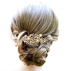 מסגסוגת שיער מסרקים headpiece מסיבת החתונה אלגנטי בסגנון נשי