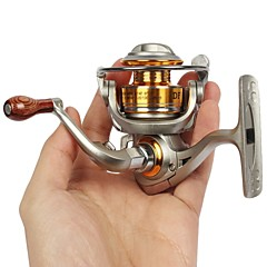 Spinning Reel 5.2:1 5BB Mini Full Metal  Fishing Reel Mini Water Wheel Left/Right Interchangeable Carp Reels