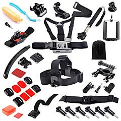 baratos Câmeras Esportivas & Acessórios GoPro-Suporte para Cabeça / Clipe / Capa Protetora Impermeável / Ajustável / Conveniência Para Câmara de Acção Todos / Gopro 5 / Xiaomi Camera Mergulho / Surfe / Esqui PVC / ABS - 38 pcs / Gopro 4