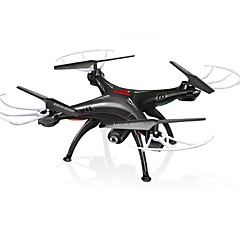 billige Fjernstyrte quadcoptere og multirotorer-RC Drone SYMA X5SW RTF 4 Kanaler 6 Akse 2.4G Med HD-kamera 0.3MP 480P Fjernstyrt quadkopter FPV / En Tast For Retur / Auto-Takeoff