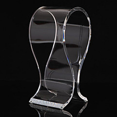 cheap Headphones Accessories-Popular Acrylic Material Stand for Headphone Tranparent