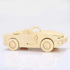 cheap -Wooden Puzzles Wood Model Car 3D Wood Gift