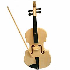 Sets zum Selbermachen 3D - Puzzle Holzpuzzle Spielzeuge Geige 3D Heimwerken Stücke