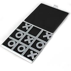 Reisen Tic Tac Toe-Aluminium Brettspiele
