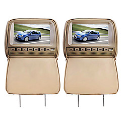 "Deluxe 9"" Headrest Car DVD Player and Protective Screen Cover"