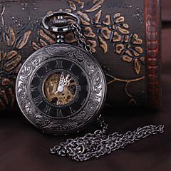 Ανδρικά Ρολόι Τσέπης μηχανικό ρολόι Αυτόματο κούρδισμα Μαύρο Εσωτερικού  Μηχανισμού Αναλογικό Πολυτέλεια - Μαύρο d0ffa9e63a8