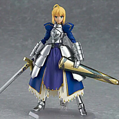 Fate/Stay Night Saber PVC 14CM Anime Action Figures Lovely Doll Toys Model Anime Action Figure