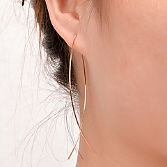Women's Stud Earrings Simple Style European Fashion Costume Jewelry Copper Jewelry Jewelry For Party Daily Casual