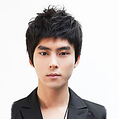 cheap Wigs & Hair Pieces-non mainstream men wig hair wigs japan and south korea handsome boy shaggy head manufacturers selling wholesales