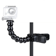cheap Accessories For GoPro-Clip Flex Clamp Tripod Mount / Holder Flexible For Action Camera All Gopro Gopro 5 Gopro 4 Session Gopro 4 Gopro 3 Gopro 3+ Gopro 2 Gopro