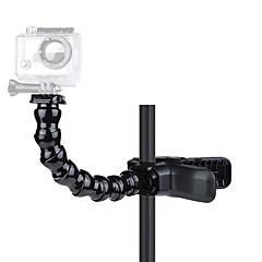 baratos Câmeras Esportivas & Acessórios GoPro-Clipe Suporte Com Garra Flexível Tripê Montagem Flexível Para Câmara de Acção Todos Gopro 5 Gopro 4 Session Gopro 4 Gopro 3 Gopro 3+