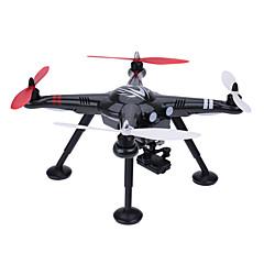 billige Fjernstyrte quadcoptere og multirotorer-RC Drone WLtoys X380-B 4 Kanaler 6 Akse 2.4G Med 1080 P HD-kamera Fjernstyrt quadkopter En Tast For Retur / Feilsikker / Hodeløs Modus Fjernstyrt Quadkopter / Fjernkontroll / USB-kabel / Styr Kamera