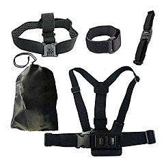 cheap Accessories For GoPro-Chest Harness Front Mounting Accessories Case/Bags Wrist Strap Straps Mount / Holder High Quality For Action Camera All Gopro Gopro 5